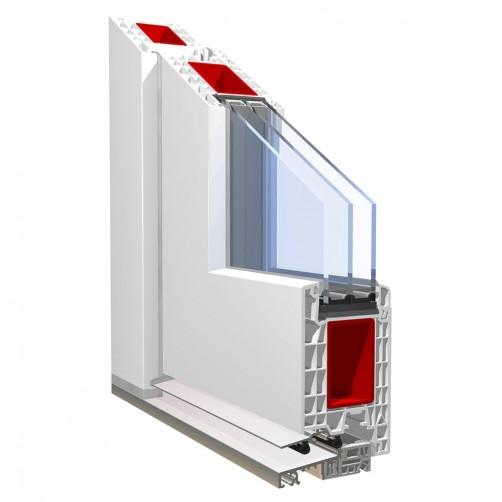 Doors PVC PRONORM 76STD