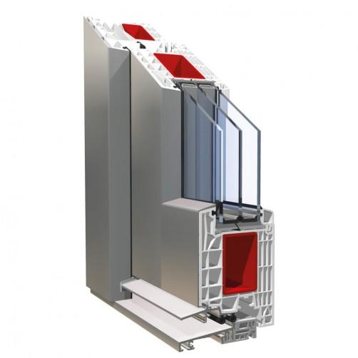Doors PVC PRONORM 88 ALU CLIP